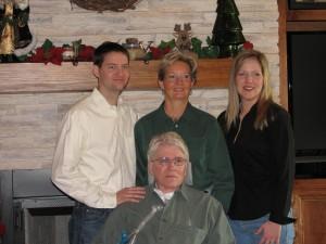 Chris, Patricia, Sherry & Dennis (December 2006)