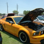 Mustang at the Car Show