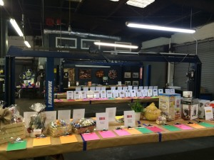 Silent Auction Set Up