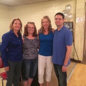 Tricia, Robin (wife of Rex w/ALS), Sherry & Chris